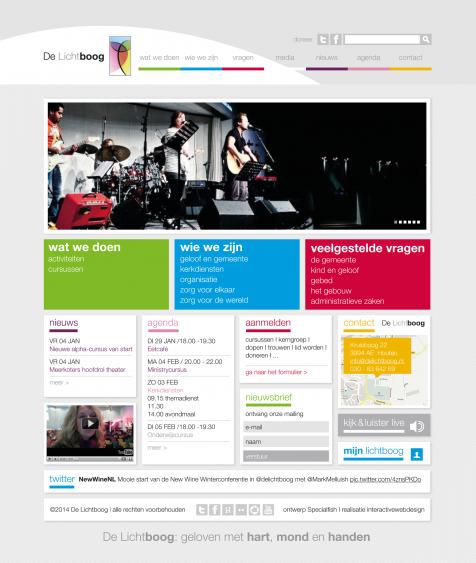 DeLichtboog web home