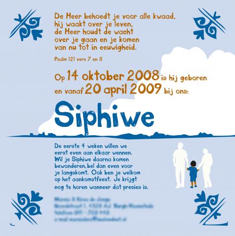 Divers geboortekaart siphiwe2
